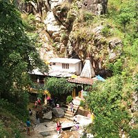 Rudradhari Temple and water fall
