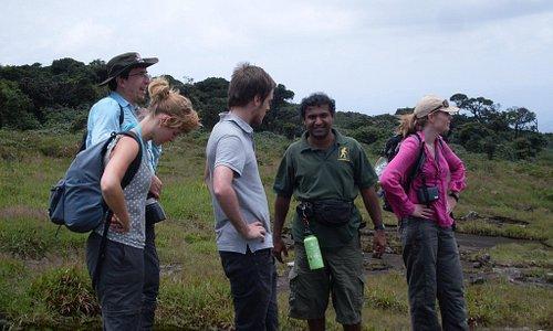 trekking in Knuckels Moutnain Range