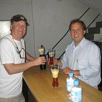 Tom Pearson and Cornelius Faust Summer 2011