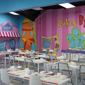 Take a class, have a party, or Drop in and Decorate in our fun filled atmosphere