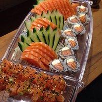 Combinado Yujin de salmão!