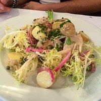 Fantastic trout salad