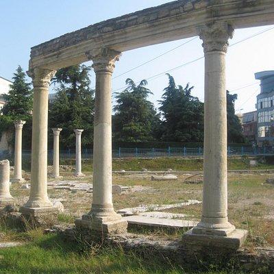 Ancient Marketplace ruins