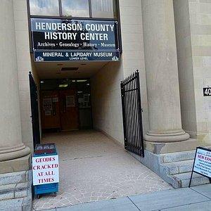 entrance from sidewalk