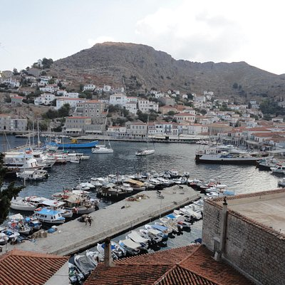 Hydra view on the way up