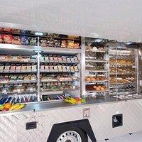 There mobile food van