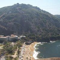 Morro da Urca e Praia Vermelha.
