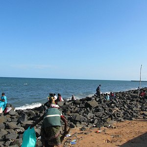 PONDICHERRY SEA BEACH