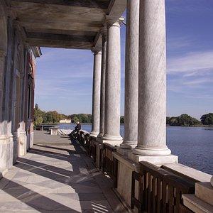 Potsdam Neuer Garten Marmorpalais am Heiligen See