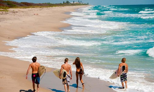 Surfing in Melbourne Beach