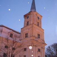 Главная церковь Валги.