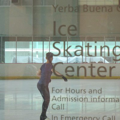 Yerba Buena Ice Skating Center, San Francisco, Ca
