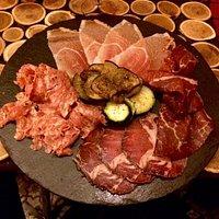 Assiette de Charcutie. (Half a plate!)