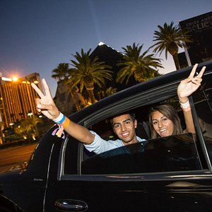 Livin' it up in style! - My Vegas Limo Tour