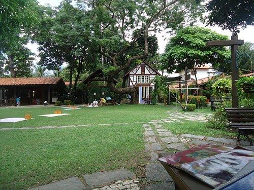 A cultura do parque é de origem alemã, do seu antigo dono Sr. Franz Wirtzbiki.