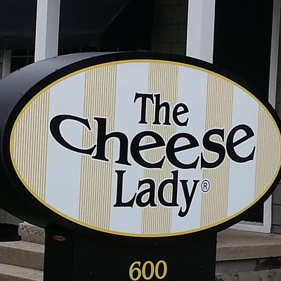 look for our big cheesy sign on west front