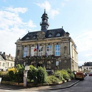 Town Hall (Hotel de ville), Vernon, France, Aug 2014