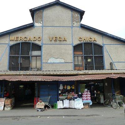 """Le Vega Chica, der """"kleine Markt"""" von außen"""