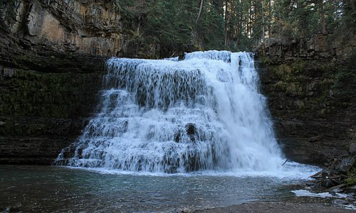 Another view of the big falls