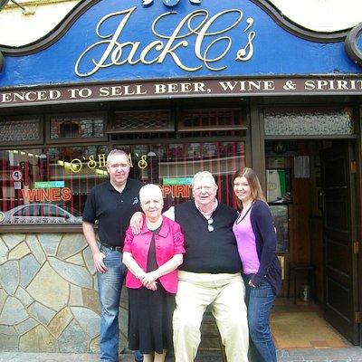 Jack C's Bar, family run pub in Killarney