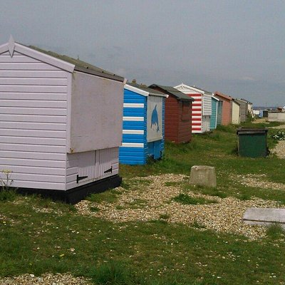 The huts by the sea ;-)