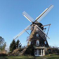 Our mill on a clear sunny day