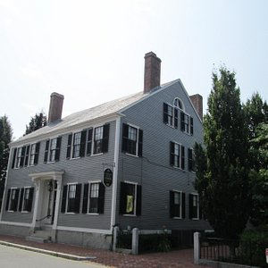 Front of the Whistler House