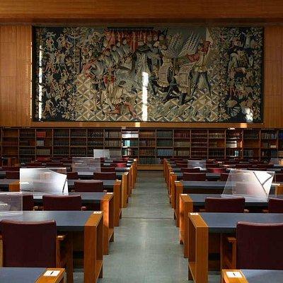 Sala de Leitura da Biblioteca Nacional de Portugal