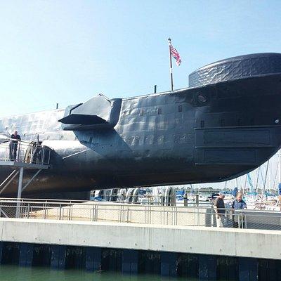 HMS Alliance - Summer photo