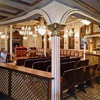 İnterior of Bet Nisim Synagogue in Kuzguncuk