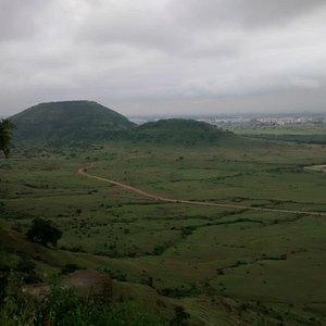 View from datttagad dighi Hill