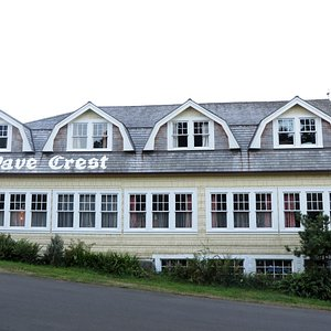 This is the Wave Crest Inn.  Unique. Historic. 2 blocks from the beach.