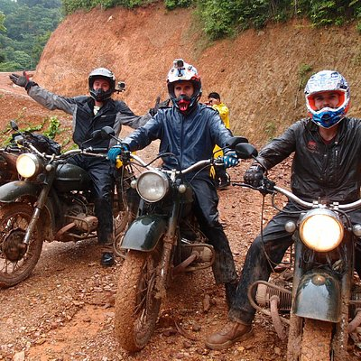 Ural 650cc on mud!