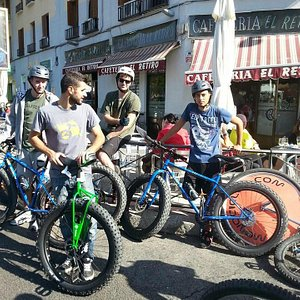 Tour Madrid Fat Bike