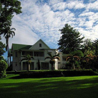 Sunnyside House at Sunrise