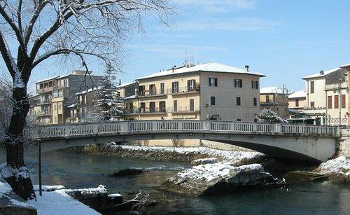 Ponte romano sul fiume Velino