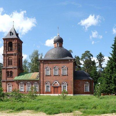 Никольская церковь в селе Макарово, гор.округ Черноголовка