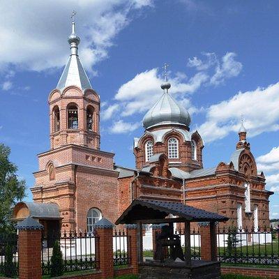 Церковь Усекновения главы Иоанна Предтечи в селе Ивановское, г.о. Черноголовка