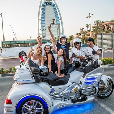 The best way to sightsee Dubai's landmarks!