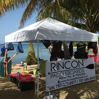 Look for our tent at the Rincon Marina!