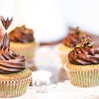 Cupcakes cioccolato e pistacchio siciiano