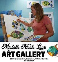 Artist at Work - Michelle Nicole Lowe