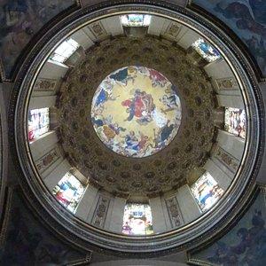 Cúpula Cristo de Santa Tersa, pelo arquiteto Lorenzo de la Hidalga