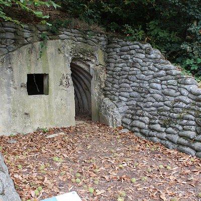 Exterior of Bunker