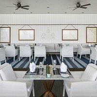 Interior im Sommerrestaurant See Spitz