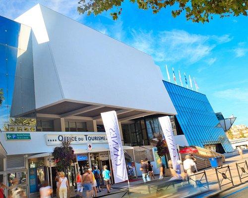 L'Office du Tourisme de Cannes © Palais des Festivals et des Congrès de Cannes/Fabre