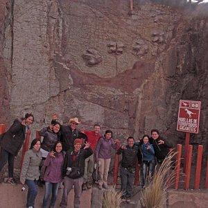 Huellas de Dinosaurio, San Marcos, Huari, Conchucos