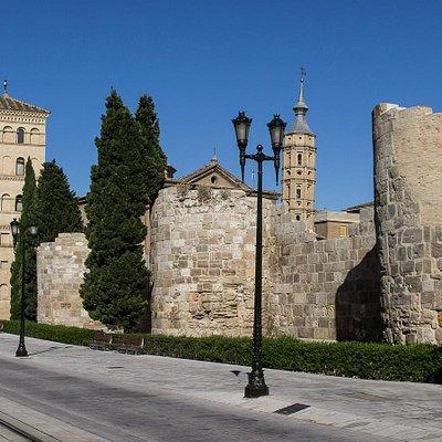 Torreón de la Zuda. Zaragoza