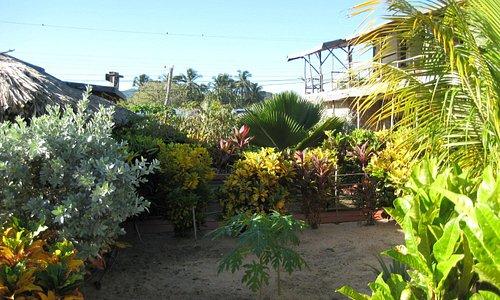 jardines de la POSADA LA PICCOLA TOSCANA