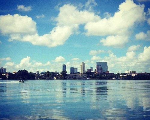 Beautiful view from Gaston Edwards Park off Orange Ave